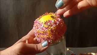 DIY  Pomander Balls   Flower Balls