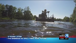 Kalamazoo River: From the Enbridge oil spill to 2015
