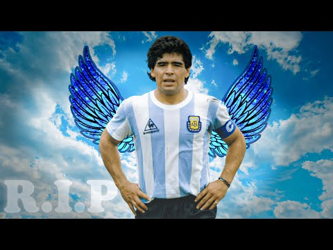 RIP Diego Maradona • Moments Impossible To Forget !