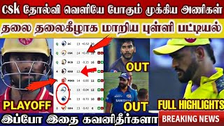 Csk lost match pbks, points table big change, going out these teams   csk vs pbks highlights   ipl