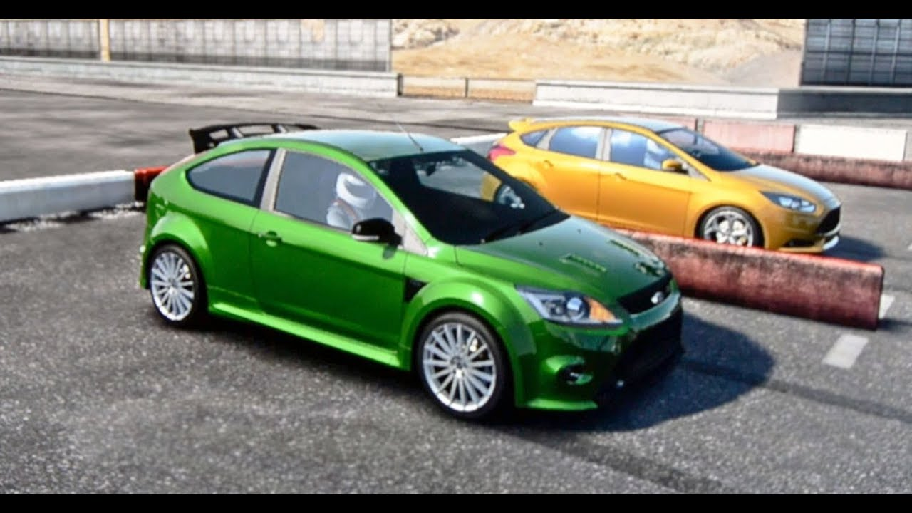2013 Focus St Vs 2009 Focus Rs Youtube