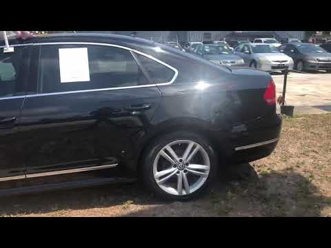 2015 BLACK VOLKSWAGEN PASSAT SEL (1VWCV7A37FC) with an 2L engine, Automatic transmission, located at 6921 40th St N, Pinellas Park, FL, 33781, (727) 366-8136, 27.834944, -82.687653 - Photo #0