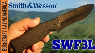Cuchillo Smith & Wesson SWF3L