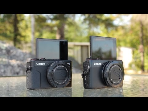 Canon G7X Mark I vs Mark II - camera review