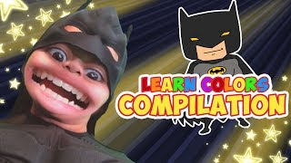 Learn Colors with Batman | Learning Lane | WigglePop