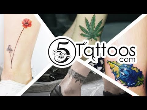 110 Exclusive Ankle Bracelet Tattoo - Ankle Tattoos