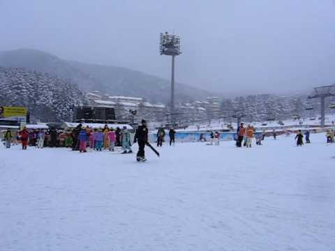 South Korea Yongpyong Ski Resort surrounds