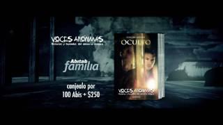 Libro Voces Anónimas Oculto  - Mayo 2011