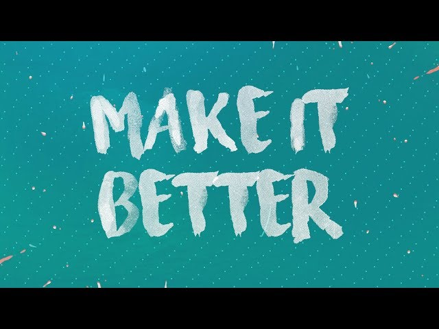 Rave Radio feat. Go Comet! - Make It Better (Lyric Video)