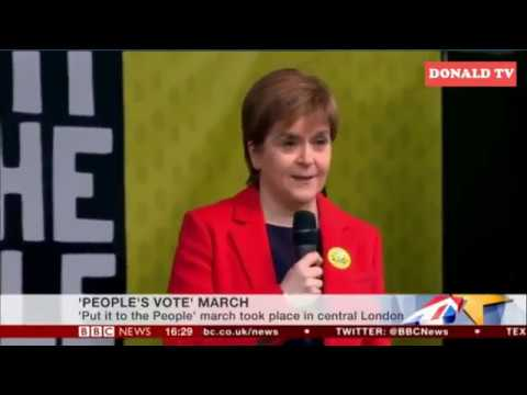 Nicola Sturgeon - People's Vote March speech London 23/03/2019