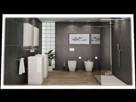modern bathroom the beauty of grey luxury interior design youtube - Black Luxury Modern Bathroom