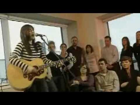 amy macdonald - run (live, acoustic)