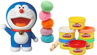 Play Doh Making of Doraemon Cartoon | Clay Molding | Easy Play Doh