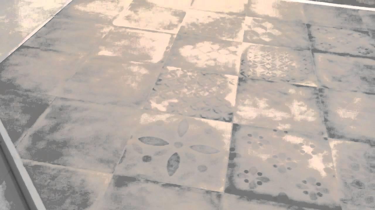 Gr s porcellanato effetto cemento 2 youtube for Gres effetto cemento