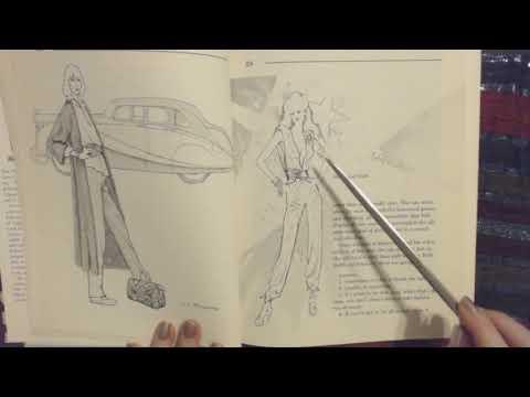 ASMR 💃🏼 Reading Fashion Tips (Whisper w/Pointer) 👜