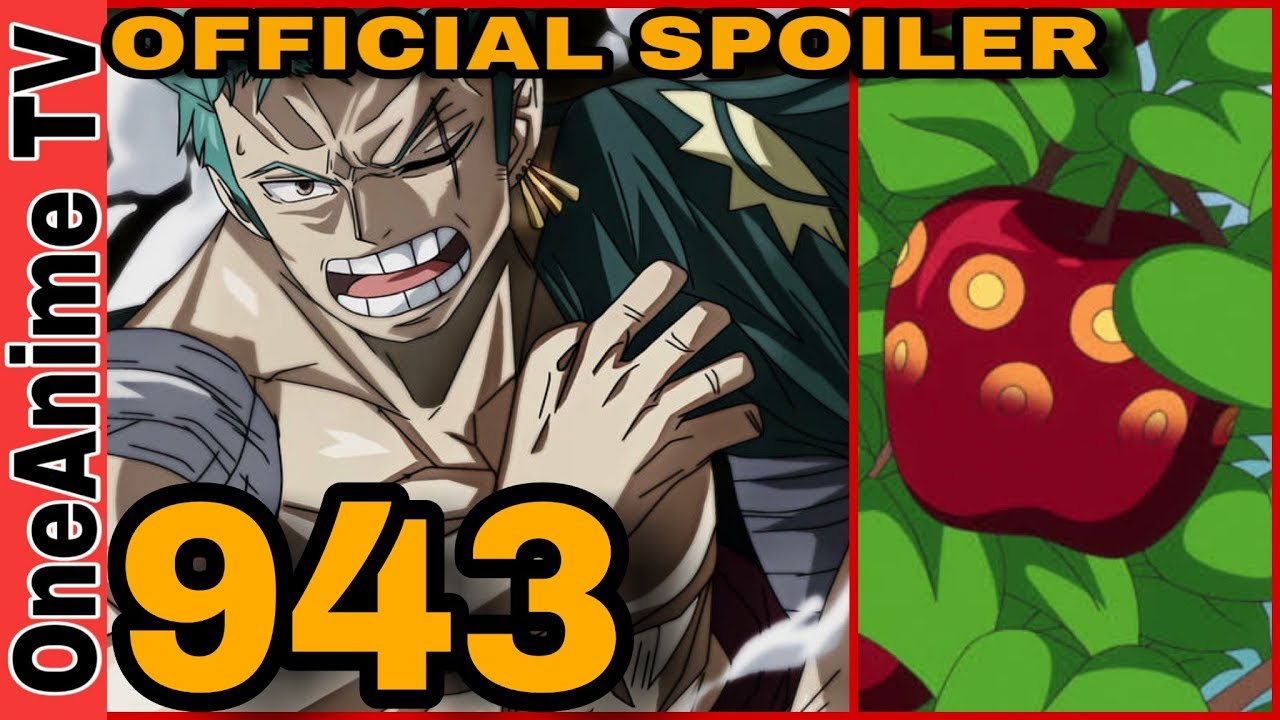 One Piece Chapter 943 Official Spoilers! - YouTube