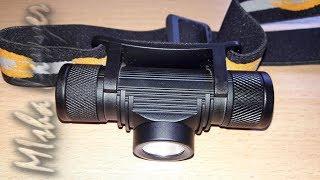 Супер ліхтарик BORUIT1000LM 3 Вт L2 Докладний огляд