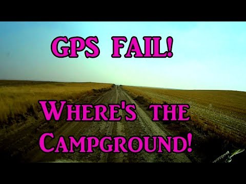 GPS FAIL! Where's the Campground? Exploring Montana - VanLife On the Road