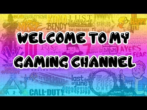 Welcome To My Gaming Channel! || Channel Trailer