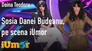 """Doina Teodoru, sosia Danei Budeanu, pe scena iUmor: """"Luați loc și țineți-vă respirația!"""""""