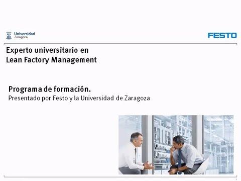Webinar Postgrado Lean Factory Management