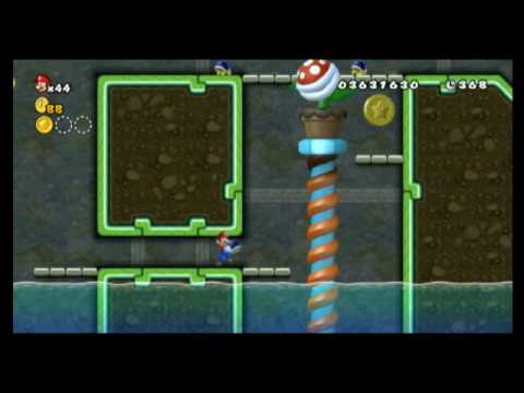 World 6 Star Coins Locations New Super Mario Bros Wii