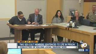 Two sex-cult members sentenced to life in prison
