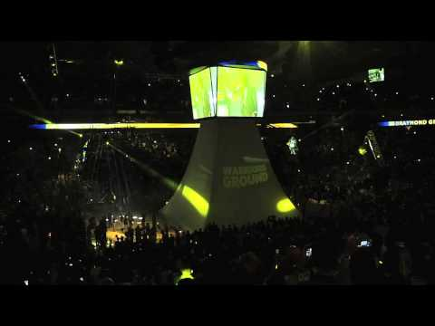 Warriors 2013-14 Opening Night Intros