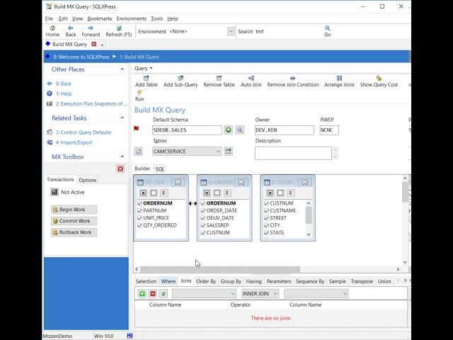 Merlon SQLXPress Query Builder