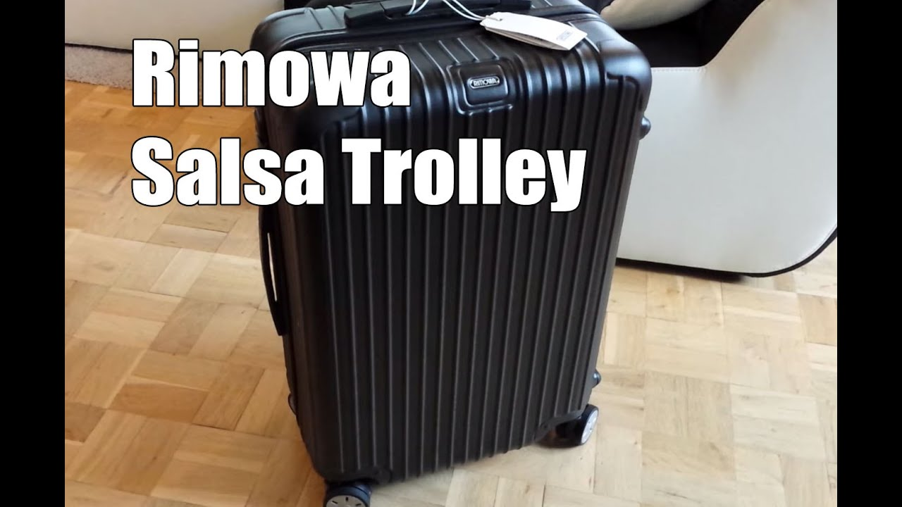 rimowa salsa multiwheel trolley 63 test und review. Black Bedroom Furniture Sets. Home Design Ideas