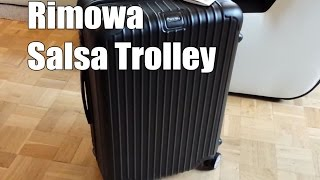 Rimowa Salsa Multiwheel Trolley 63 Test und Review (Deutsch)