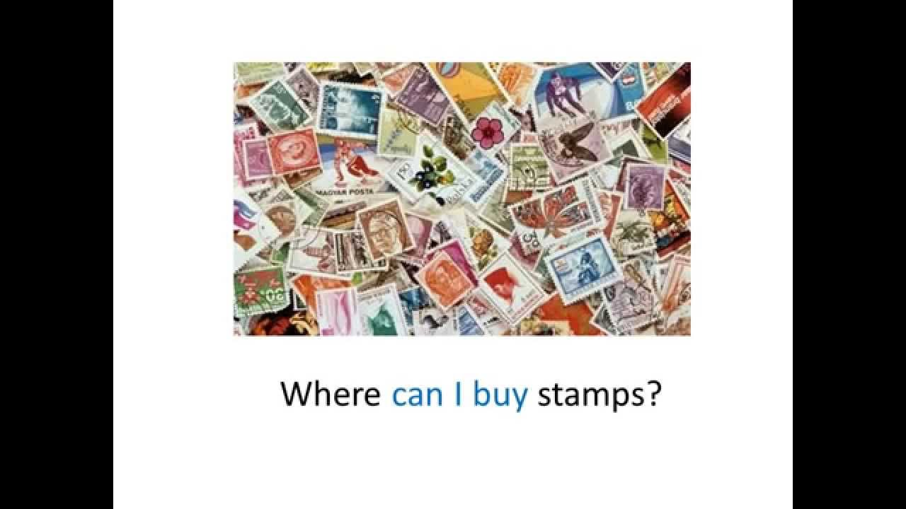 Where to buy stamps - Go Languages Embedded Indirect Questions
