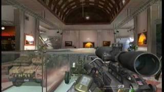 Call Of Duty Modern Warfare 2 Museum Level Fun!!!