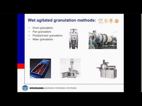 Agglomeration Technology Webinar