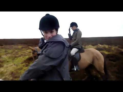Oxford University Equestrian - Exmoor Hunting Trip