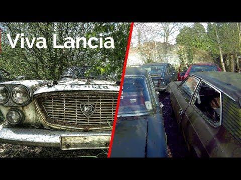 Abandoned LANCIA Garage ALL CARS STILL LEFT !!!! - YouTube