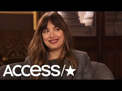 'Fifty Shades Freed': Dakota Johnson On Anastasia Steele's Fab Wardrobe | Access from YouTube · Duration:  1 minutes 45 seconds