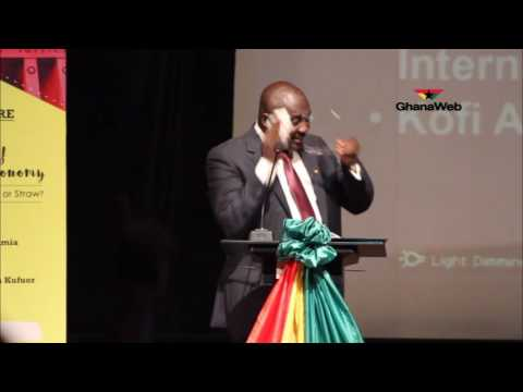 Dr. Mahamadu Bawumia's public lecture on state of the Ghanaian economy - The way forward