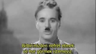 Charlie Chaplin - The Great Dictator Konuşması