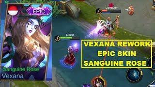 Vexana Rework Epic Skin (Sanguine Rose) - Mobile Legends Limited Event Skin