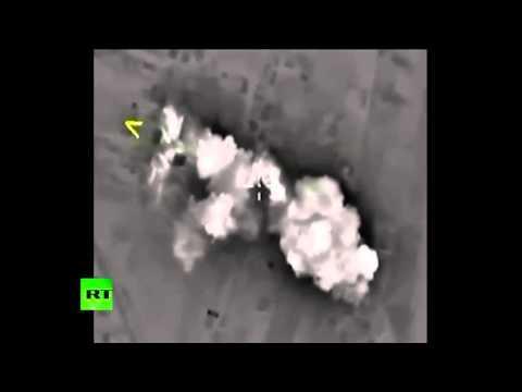 Минобороны РФ: Российская авиация ночью нанесла 4 удара по позициям ИГ