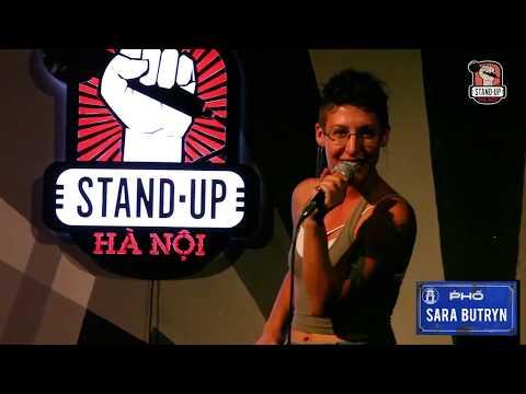 Sara Butryn @Stand-Up Hanoi 2017
