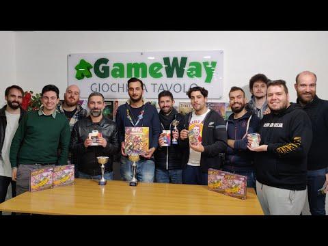 Premiazione Coppa GameWay KeyForge 2019