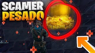 SCAMMER WEIGHTED ME HEAFAnd ACABA SO... Fortnite Save the World