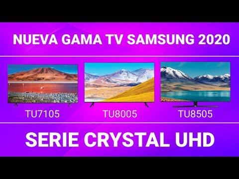 Nueva gama TV Samsung 2020 Ep.1 - Serie Crystal UHD [TODOS LOS DETALLES]