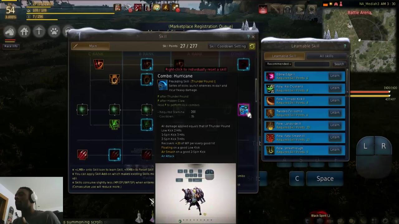 NEW Mystic Skill Guide LVLS 1 56 Black Desert Online