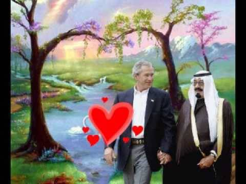 Image result for george bush and saudi king kiss
