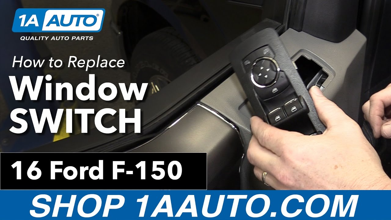 How To Replace Power Window Mirror Switch 15 19 Ford F150 Youtube Wiring Diagram