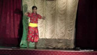 Nepali Solo Dance Mix at Nepali Fashion Show in Houston
