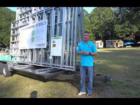 Easy To Assemble Steel Tiny House Frame Kit